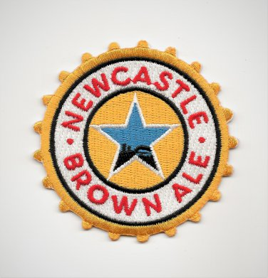 New Castle Brown Ale Beer Collectors Patch