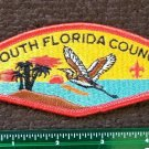 VTG BOY SCOUTS BSA COUNCIL SOUTH FLORIDA PATCH INSIGNIA