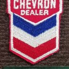 Vintage Chevron Dealer Gasoline Racing sew on Patch