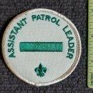 Vintage Boy Scout ASSISTANT PATROL LEADER Collectors Patch