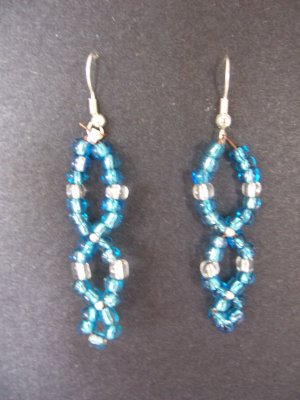 Blue Swoops - SOLD