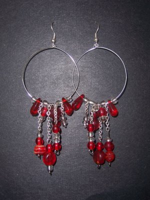 Red Danglies - SOLD