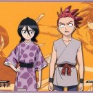 Bleach Sega Postcard Childhood - Renji Rukia