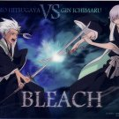 Bleach Soul Plate Clear Card Collection Part 2 - Hitsugaya Gin
