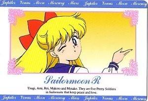 Sailor Moon R Hero 1 Regular Card #74