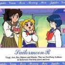 Sailor Moon R Hero 1 Regular Card #77