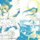 Cardcaptor Sakura Manga Clow Chapter Regular Cards - Blue Sakura