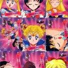 Sailor Moon Cardzillion Series 3 Complete Regular Card Set