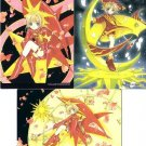 Cardcaptor Sakura Manga Sakura Chapter Regular Cards - Sun Sakura