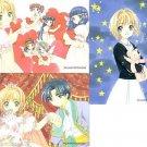 Cardcaptor Sakura Manga Sakura Chapter Regular Cards - Sakura's Friends