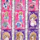 Kirarin Revolution 5th Stage Winter Snow Regulars Prismatic Cards