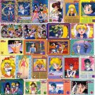 Sailor Moon Mini Carddass 2 EX Prism Regular Card Set of 30