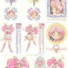 Sailor Moon Super S Irezumi Seal Tattoo Cards - Chibimoon Lot