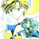 Sailor Moon Doujinshi Stationary Letter Sheet #20