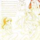 Sailor Moon Doujinshi Stationary Letter Sheet #27
