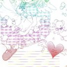 Cardcaptor Sakura Doujinshi Stationary Letter Sheet #2