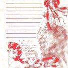 Sailor Moon Doujinshi Stationary Letter Sheet #23