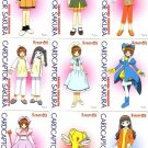 Card Captor Sakura PP Pull Pack 1 Movie Regular Cards