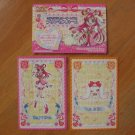 Pretty Cure Max Heart Pop-up House & Doll Cards Lot #3