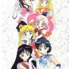 Sailor Moon Seika Note Movic Post Card #1193-B