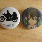 Ribon Manga The Beautiful World Can Badge