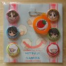 Ribon Manga Hitsuji no Namida Badge Set Keychain