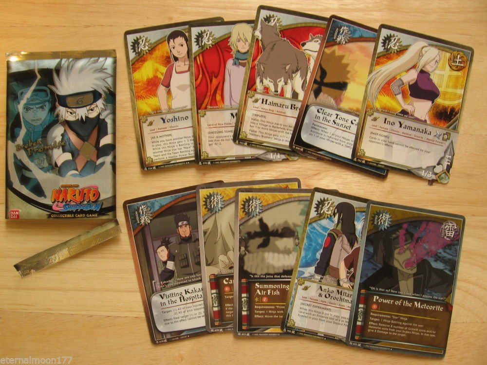 Naruto TCG CCG Broken Promise Booster Pack