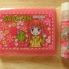 Ribon Manga Saboten's Secret Cactus Nana Haruta Compact Mirror Comb Lipgloss