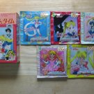 Sailor Moon R Bath Salt Crystals Pack of 5 - Set A