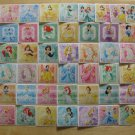 Disney Princess Sticker Collection Complete Regulars & Prism - 50 Normal + 5 SP