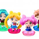 Sailor Moon Megahouse Petit Chara Chibi Figure School Life Vol.2- Complete Set B