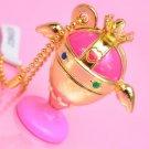 Sailor Moon Crystal Capsule Gashapon Diecast Charm 2 - Holy Grail Rainbow Chalice