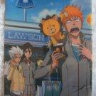 Bleach Official Lawson Clear File #4 - Ichigo Toushiro Rukia