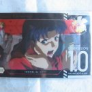 Evangelion Plastic Lawson Chocolate Wafer Card - Embossed Special S-03 Misato