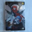 Evangelion Plastic Lawson Chocolate Wafer Card - IC-06 Rei Ayanami & Asuka
