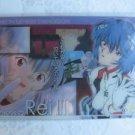 Evangelion Plastic Lawson Chocolate Wafer Card - EC-23 Rei Ayanami