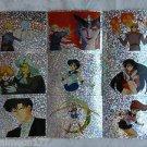 Sailor Moon Beginnings Classic Mars Mercury Jupiter Stickers Prisms Lot of 179