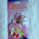 Sailor Moon GE Official Keychain Rubber Chibi Moon