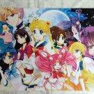 Sailor Moon Manga Group Poster