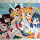 Sailor Moon Manga Five Senshis Soldiers Poster