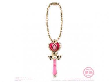Sailor Moon Little Charm 2 Figure Candy Toy Keychain - Spiral Heart Moon Rod