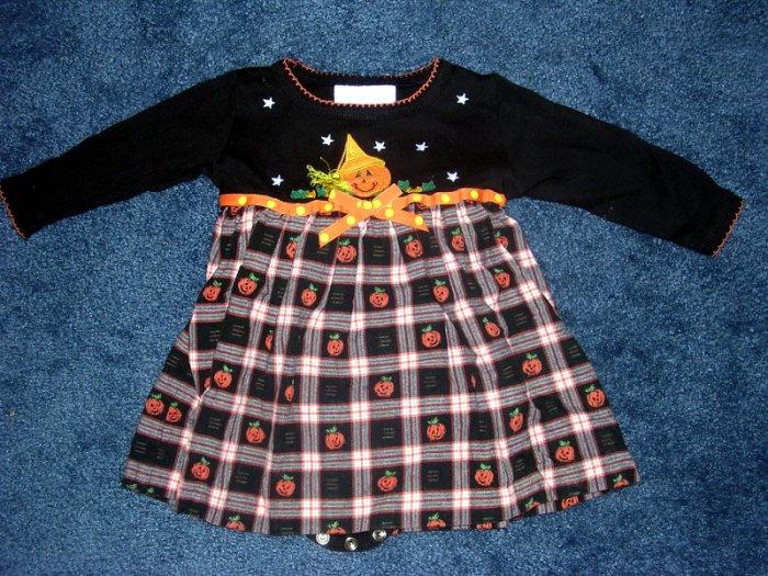 Pumpkin dress Sz 9 months