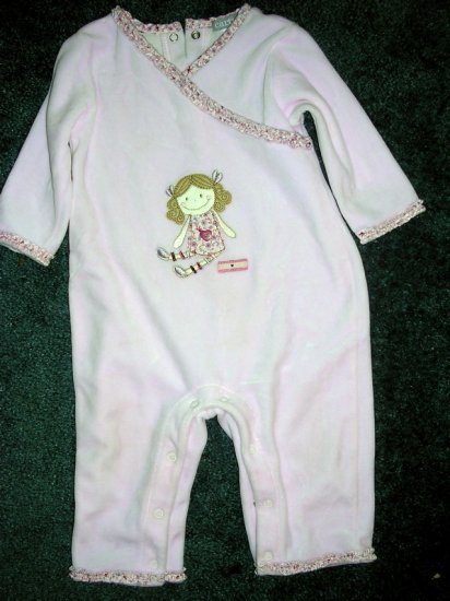 Carter's little girl romper 12 months