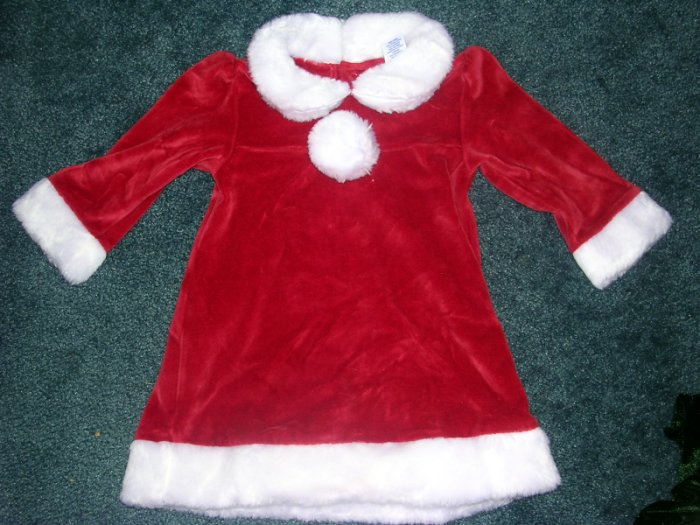 Old Navy Santa dress 12 months