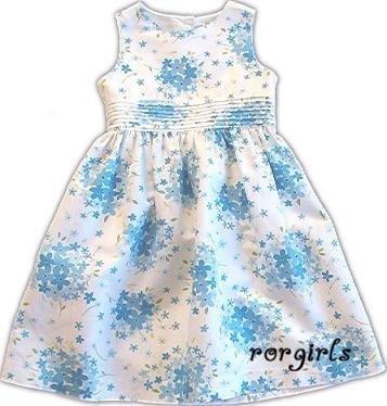 Gymboree Easter Basket blue flower dress HTF 12-18