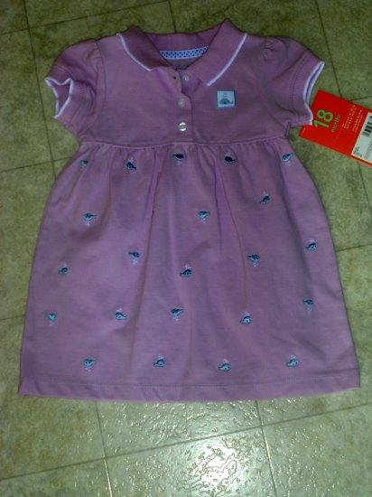 Carter's whale dress 18 months