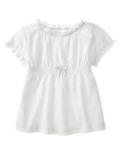 Gymboree Candy apple smocked tee 12-18
