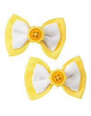 Gymboree Sunflower Fields barrettes