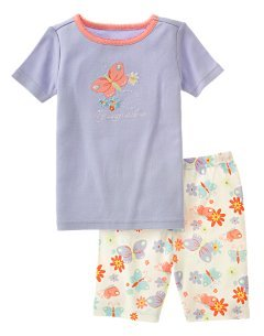 Gymboree 2pc butterfly gymmies 18-24