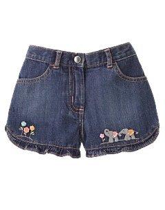 Gymboree Summer Safari denim shorts 12-18